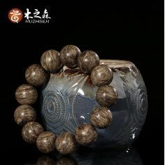 【珍藏绝版】柬埔寨菩萨正产区奇楠种沉香手串18MM佛珠蜜甜花香