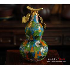 【专柜正品】铜胎掐丝珐琅景泰蓝精工小葫芦/中式礼品(现货)