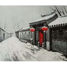 北京胡同   红灯笼