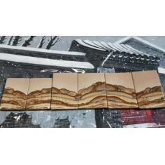 文玩画石……江山如此多娇!天然石画!
