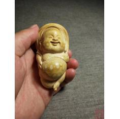 竹艺把玩小童子 4.1-4.1-7.5cm